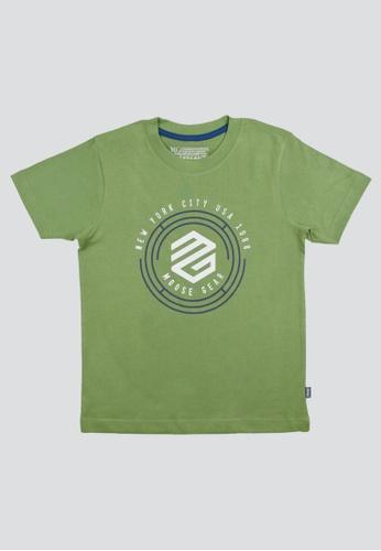 Moose Gear green T-Shirt Soft and Thin Cotton For Boys E79A1KA6DF9E62GS_1