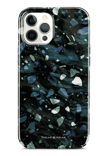 Polar Polar grey Nordic Terrazzo Gem Dual-Layer Tough Case Glossy For iPhone 12 Pro Max F3BA8ACAC14076GS_1