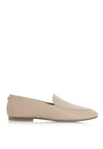 Dune London 粉紅色 Basic皮革樂福鞋 D9625SH2694B04GS_1