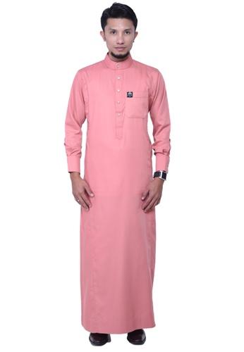 Maribeli Butik Pink Mb Man Zulqarnain Pink Belacan Peach Maaabtwmy_
