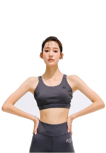 B.Duck grey B.Duck Women Training Sports Bra 96D12US7AE639BGS_1