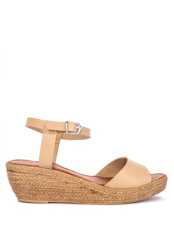 a6a1aa64fb0 Peep Toe Espadrille Sandals with Platform Wedges