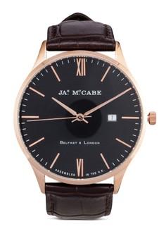 London Slim Quartz Leather Watch