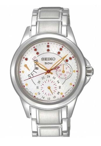 Seiko silver Seiko Criteria Silver Stainless Steel Watch 85E37AC91B7835GS_1