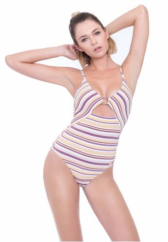 Sunseeker multi Sunbleached Stripes One-piece Swimsuit 94DC9US8735FB2GS_1