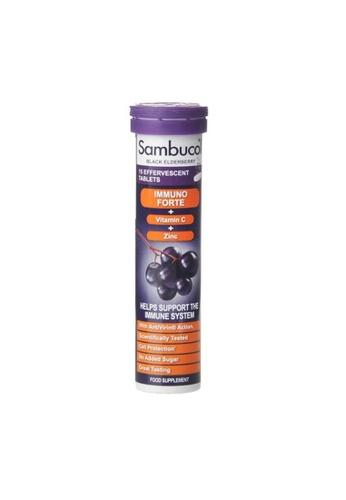 Holland & Barrett Sambucol Immuno Forte 15 Effervescent Tablets 0D156ESF9355DDGS_1
