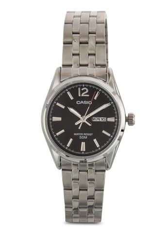 Enticer 行針圓框女士esprit mongkok鍊錶, 錶類, 飾品配件