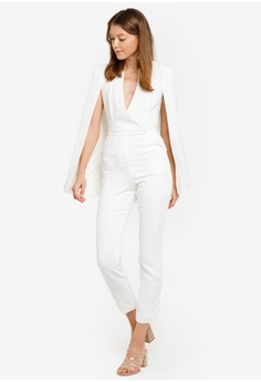 aee1ff518d89 60% OFF Lavish Alice Notched Collar Cape Jumpsuit S  216.90 NOW S  86.90  Sizes 12