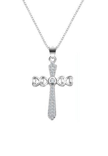 ADORA Cross Pendent Necklace AD365AC60MJBHK_1