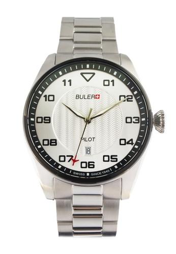 Buler silver Buler Sport Watch - Silver - Gents - Date - 3H BU689AC2VG1CHK_1