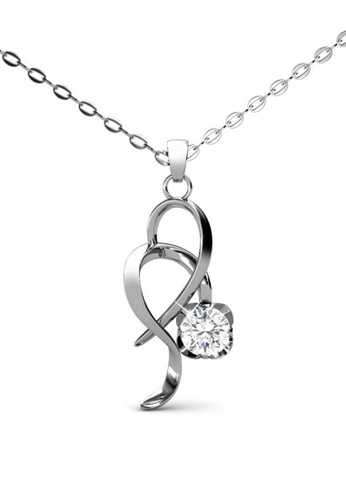 Her Jewellery silver Her Jewellery Flower Pendant with Necklace Chain with 18K Gold Plated 8B20FACCBF4F4AGS_1