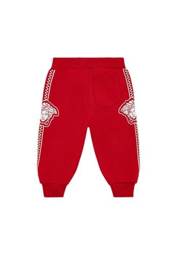 Versace red VERSACE BABY BOYS LONG PANTS D387FKA668C474GS_1