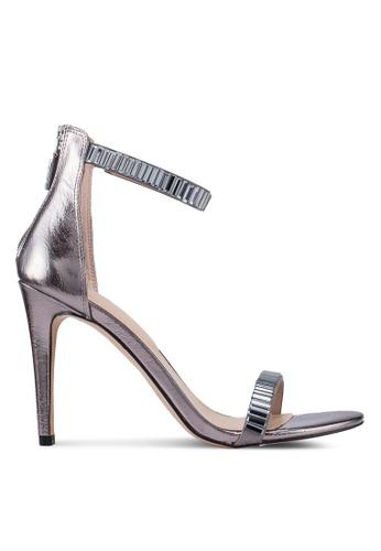 a842a21fa7e Subrylla Open Toe Ankle Strap Stiletto Heels