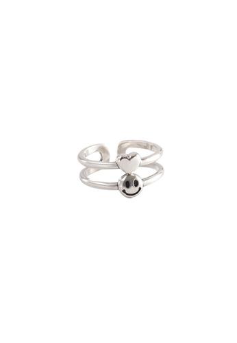 OrBeing white Premium S925 Sliver Geometric Ring EEDEDACD622F3FGS_1