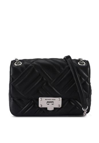 Michael Kors black Md Shoulder Bag (nt) 73B2CAC5960375GS_1