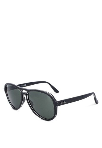 Ray-Ban black Injected Sunglasses 7A2CCGLBA1C71CGS_1