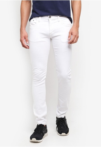 Indicode Jeans white Pittsburg Slim Fit Jeans C9C24AABBB2DA1GS_1