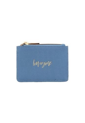 Klosh blue Morandi Collection - Imagine Card Case E7C7EAC786775DGS_1