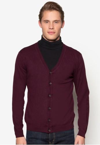 羅紋鈕扣外套,esprit taiwan 服飾, 開襟外套