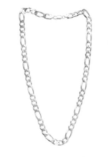 Silverworks silver Thick Figaro Necklace SI696AC62HIBPH_1