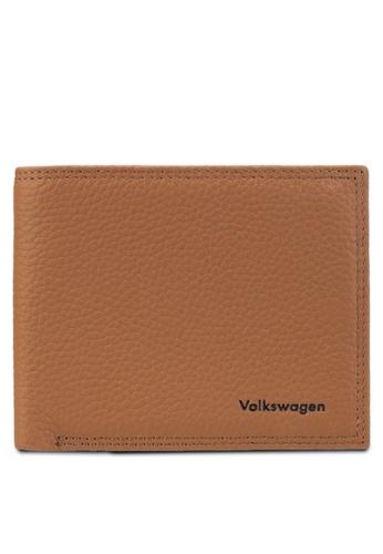 Volkswagen brown Volkswagen Bi-Fold Wallet VO089AC65GKCMY_1