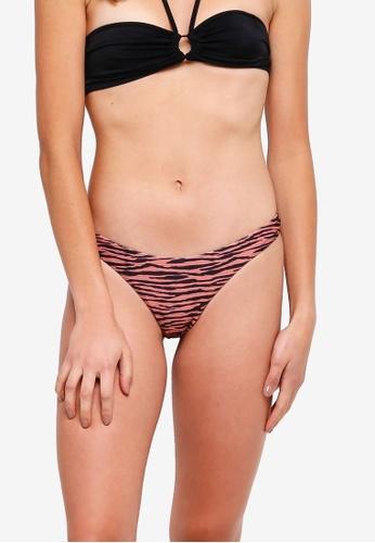 1e8c723076628 Buy TOPSHOP Ribbed Zebra Bikini Bottoms Online on ZALORA ...