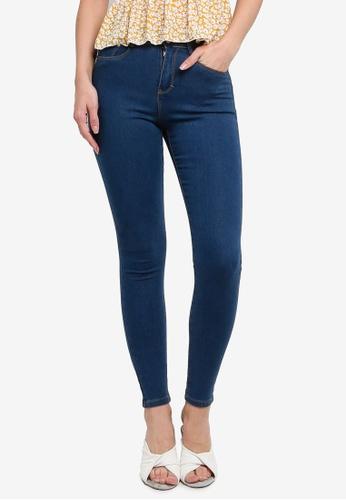 Brave Soul blue Skinny Fit Jeans 61F18AA52B9249GS_1