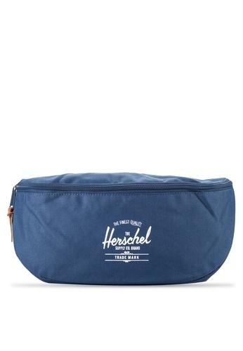 Herschel navy Sixteen Hip Pack HE114AC06NIBMY_1