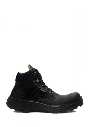 Cut Engineer black Cut Engineer Tactikal Safety Boots Iron Suede Leather Black CU226SH16SFRID_1