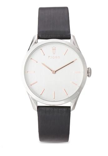 VENDELA 雙指針皮革錶, 錶類, 飾esprit香港門市品配件