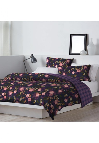 DKNY purple DKNY Juliet Quilt Cover & Pillow Sham Set. 1A7B4HL8CE8782GS_1