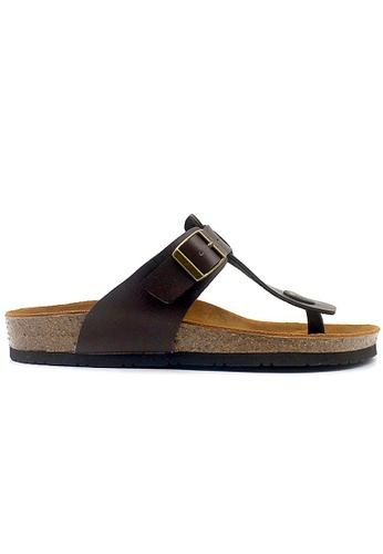 SoleSimple brown Copenhagen - Brown Sandals & Flip Flops 3B3FCSH3172606GS_1
