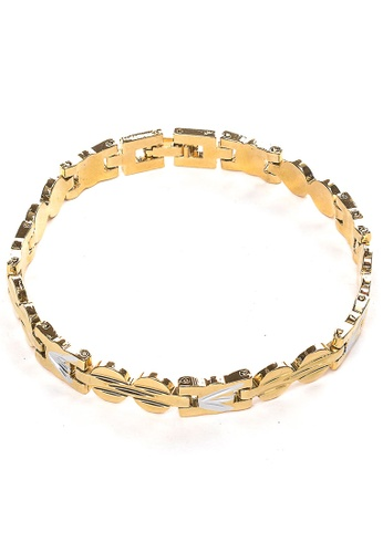 Jewelplace gold Zeus Gold Plated Bracelet AE5E5AC47AFFF0GS_1