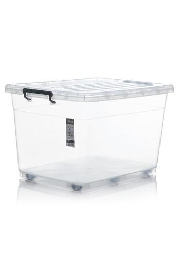HOUZE HOUZE - 95L Storage Box with Wheels DA21BHL6986DABGS_1