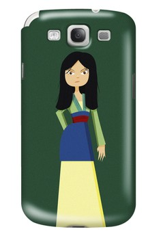 Warrior Princess Glossy Hard Case for Samsung Galaxy S3