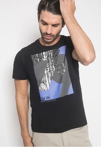 LGS black LGS - Kaos Youth - Slim Fit - Gambar Sablon - Hitam - 79 594CFAA19BA966GS_1