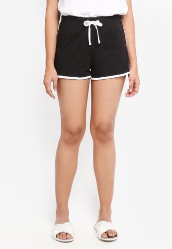 Dorothy Perkins black Black Jersey Shorts 2B177AA43D2E26GS_1
