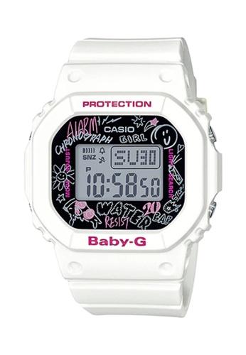Casio white CASIO BABY-G WOMEN SPORT WATCH BGD-560SK-7DR 6AB2DAC3CB43D4GS_1