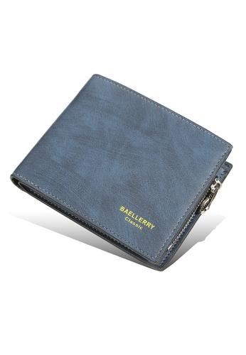 Baellerry blue Vintage 3-Fold Short Wallet 8208BAC2C02CF9GS_1