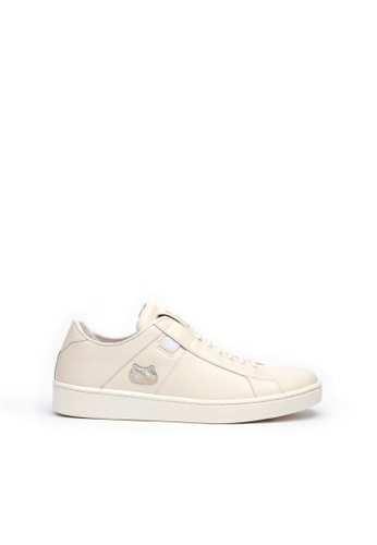 Royal Elastics 米褐色 Icon Catwalk 真皮休閒鞋 931C1SHC4BD00FGS_1