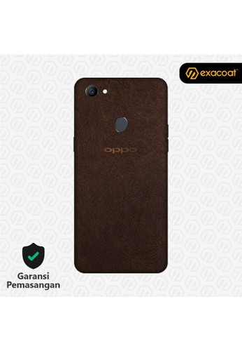Exacoat Oppo F7 3M Skins Leather Brown - Cut Only 1019CES38930BCGS_1