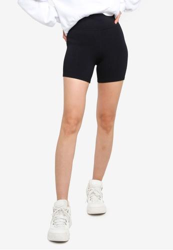 ABERCROMBIE & FITCH black Seamless Bike Shorts 71161AAFC32312GS_1