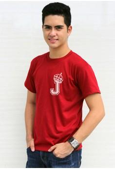 King's Initial J T-shirt