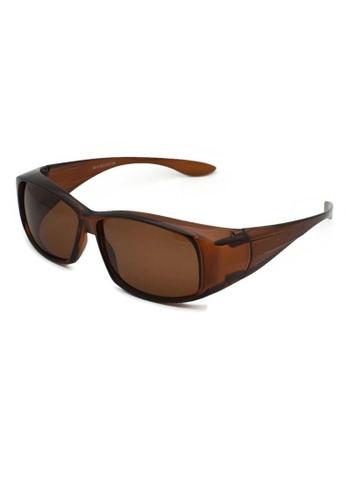 jojo brown Classic Fitover Polarized Sunglasses 0639DGL4EA7ED3GS_1