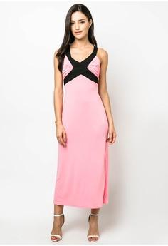 Althea X-style Back Maxi Dress