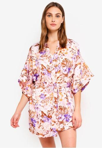 Cotton On Body white Kimono Gown AF6DFAA891B857GS_1
