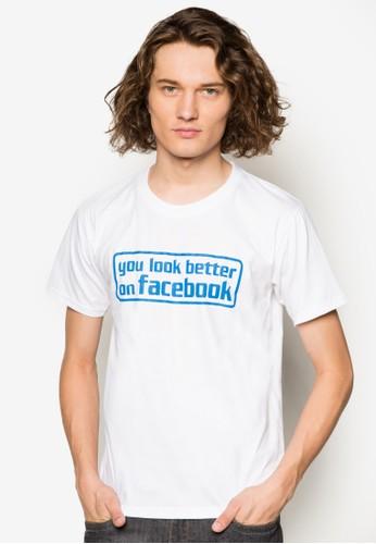 臉書上的你更好看設計TEE, 服飾,esprit 京站 T恤