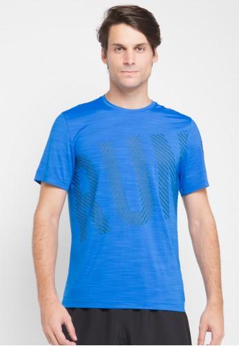 Reebok blue One Series Running Ss Activchill Tee RE246AA0U73LID_1