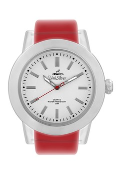 Lucent Unisex Translucent Rubber Strap Watch KW865-1006