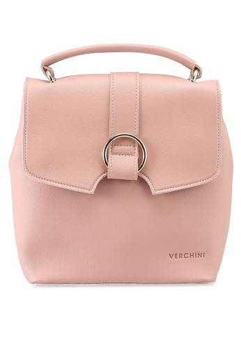 Verchini pink Verchini Mini Backpack Purse 8A687ACC85CBEFGS_1
